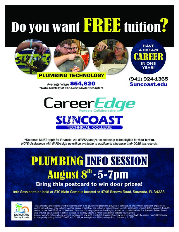 Free Training (Plumbing) 2017-18 Flyer